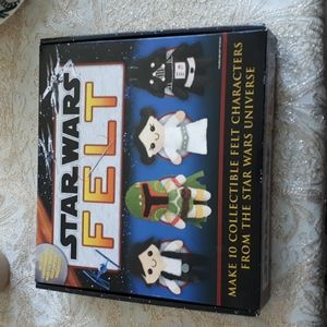 Star Wars Felt DIY Kit NEW (1052-7)